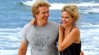 Heather Locklear Hits the Beach With Jack Wagner on 50th Birthday