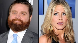 Zach Galifianakis: Jen Aniston Nixed Brad Pitt Look-alike for Skit