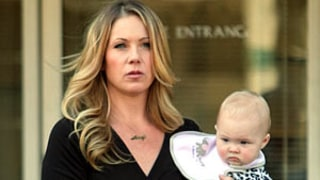 Christina Applegate Brings Daughter Sadie to Set