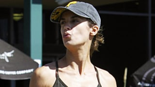 Elisabetta Canalis Flaunts Amazing Abs While Grocery Shopping