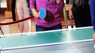 She's a Ping Pong Natural