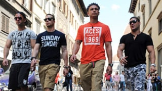 Jersey Shore Guys Visit Sicily: