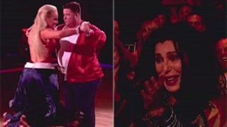 Cher Bursts Into Tears After Chaz Bono's Dancing with the Stars Performance