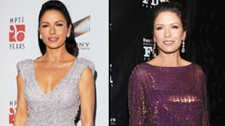 Catherine Zeta Jones Stuns in Two Dazzling Looks