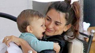 Penelope Cruz, Javier Bardem Take Son Leo, 10 Months, For Lunch in Italy
