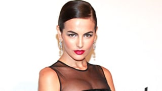 Camilla Belle Stuns in Sexy, Curve-Hugging Gown