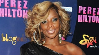 Mary J. Blige Parties at Perez Hilton's