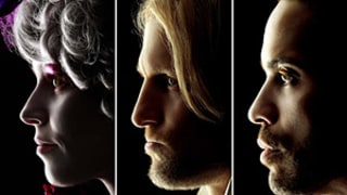 See Elizabeth Banks, Woody Harrelson and Lenny Kravitz in The Hunger Games