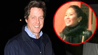 New Dad Hugh Grant Visits Ex-Girlfriend, Baby Daughter