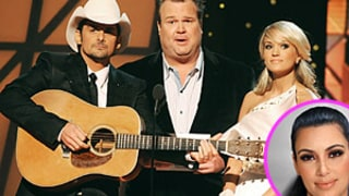 Carrie Underwood, Brad Paisley Mock Kim Kardashian at CMAs