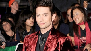 Whoa! Jackson Rathbone Rocks Red Velvet Suit at Breaking Dawn Premiere