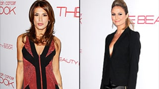 George Clooney's Gals Stacy Keibler, Elisabetta Canalis Avoid Each Other at Bash