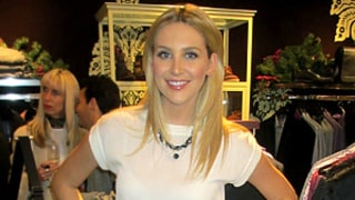 Stephanie Pratt Checks Out Ted Baker Winter Collection in L.A.