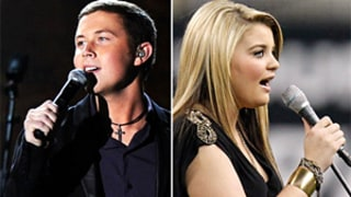American Idol Alums Scotty McCreery, Lauren Alaina Flub Thanksgiving Performances