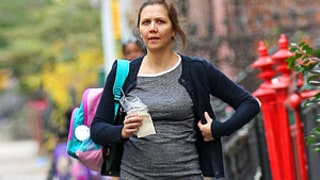 See Maggie Gyllenhaal's Baby Bump!