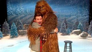Chewbacca to Guest Star on Glee's Christmas Episode!