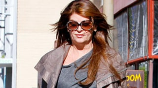 Kirstie Alley Shops in Sexy Studded $1,000 Heels!
