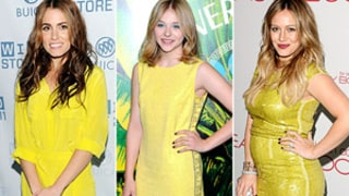 Star Style Trend: Bold Yellow Dresses