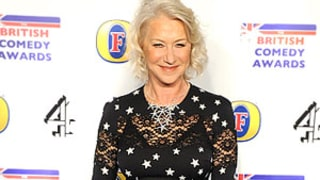 Wow! Helen Mirren, 66, Wears Skin-Tight Lace Dress