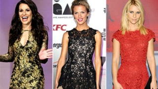 Which Star's Lace Dress Was Lovelier in 2011?