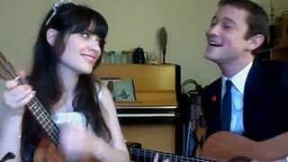 Watch Zooey Deschanel and Joseph Gordon-Levitt Sing in Cute Duet