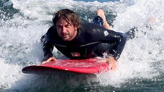 Gerard Butler: Surfing Accident Was a