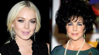 Lindsay Lohan May Play Elizabeth Taylor in TV Movie