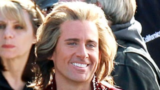 PIC: Steve Carell Wears Blonde Wig, Bejeweled Velvet Suit
