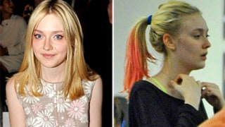 PIC: Dakota Fanning Dyes Her Hair Pink!