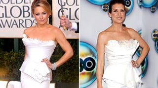 Kate Walsh Copies Kate Hudson's 2010 Golden Globes Dress