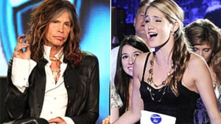 American Idol: Steven Tyler Hits on Contestant, 15, in Front of Her Dad!