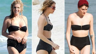 Would You Wear a Retro Bikini Like These Stars?