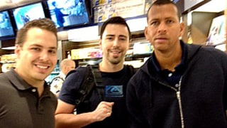 PIC: Alex Rodriguez Buys Us Weekly at Miami Airport!