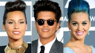Alicia Keys, Katy Perry Copy Bruno Mars' Hairstyle!