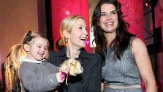 Kelly Rutherford, Brooke Shields Check Out Barbie's Dream Closet