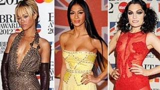Rihanna, Nicole Scherzinger Wow at Last Night's Brit Awards