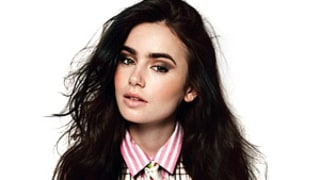 Lily Collins: You'll Never See Me Drinking or Doing Drugs