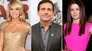 Carrie Underwood, Steve Carell and Debra Messing Join Twitter!