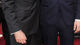Zachary Quinto and J.C. Chandor at the 84th Annual Academy Awards