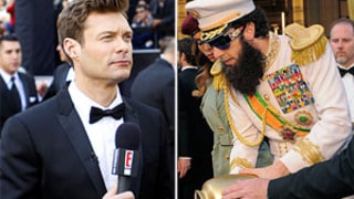 Ryan Seacrest on Sacha Baron Cohen Prank: I Had No Idea He'd Do That!