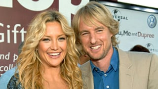 Exes Kate Hudson and Owen Wilson Bond Over Babies at Oscars Bash