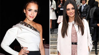Jessica Alba, Mila Kunis and More Stars Wow at Paris Fashion Week
