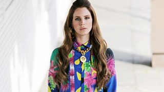 Lana Del Rey Poses in Crazy, Colorful Getup