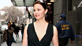Ashley Judd Steps Out in Cleavage-Baring LBD