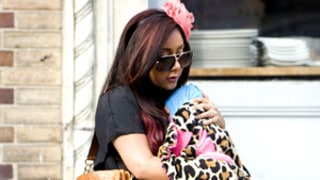 Pregnant Snooki Carries a Baby Doll