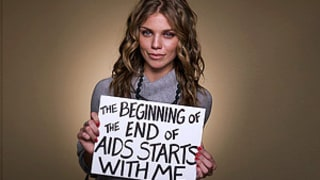 AnnaLynne McCord, Blythe Danner Team Up for AIDS PSA