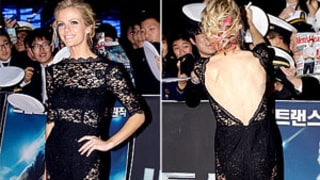 Brooklyn Decker Stuns in See-Through Black Dress, Shows Off Pink Hair