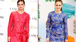 Emma Watson, Kristen Stewart and More Stars Lace Up