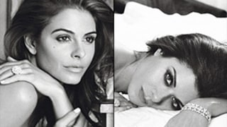 Maria Menounos, Debra Messing Pose Nude
