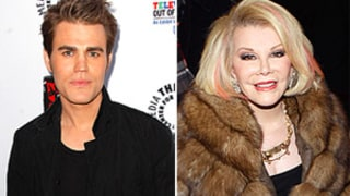 Paul Wesley, Joan Rivers' Plane Struck by Lightning on Friday the 13th!